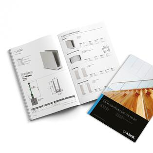 Customised ONLEVEL catalogues and brochures